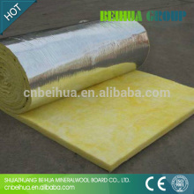 aluminum building construction material heat preservation insulation glass wool blanket
