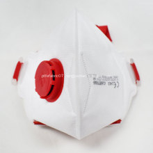 FFP3 Folded Protective Mask with Valve CE Certificate