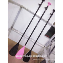 OEM type painted color balde carbonfiber paddle with ABS blade protection