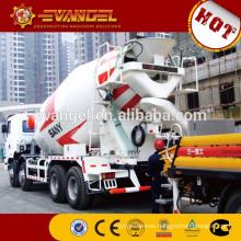 Sany 8x4 12m3 concrete cement mixer truck