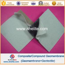 Géotextile non tissé de 400GSM chauffé par doublure de Geomembr de HDPE de 2.0mm