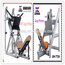 Máquina linear de la prensa de la pierna de la placa de la fuerza del martillo de 45 grados hecha en China / equipos de la aptitud comercial / equipo de la gimnasia