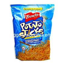 Bolsa de embalaje de patatas fritas / bolsa de embalaje de aperitivos