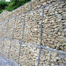 Retaining Hex Stone Gabion Wall
