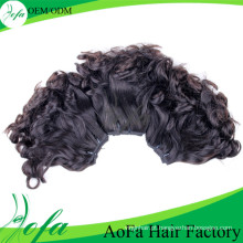 Trama natural não processada do cabelo humano de Remy do cabelo da onda de 100%