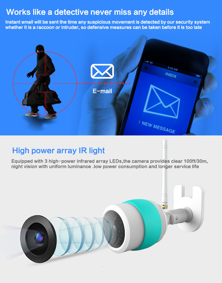 IR LED IP Camera