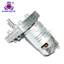 low rpm high torque 12v 19rpm dc electric gear motor for equipment use