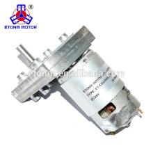 12В 3rpm робототехники шестерни DC мотор