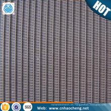 5 10 15 20 25 30 45 80 micrones de acero inoxidable inversa holandés tejen la malla de alambre de malla de alambre bolsa de filtro tejida