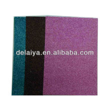 colorful glitter EVA foam sheet with adhesive