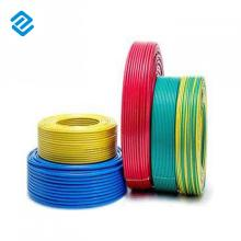Free sample for Flexible PVC Electrical Wires 2.5mm2 4mm2 Electrical House Cable Wire export to Portugal Factories