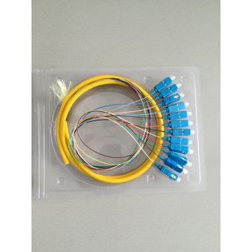 Отрезки Провода Оптического Волокна SC Волоконно-Оптического Кабеля