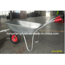Wb5204 High Quality 65L Galvanized Wheel Barrow