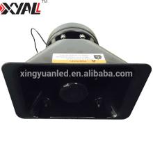 200W 12V Impermeable Alta calidad Salida de audio Sirena bocina de coche Hooter Alarma Altavoz