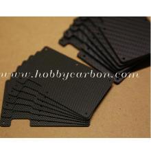 Minimalistische Brieftasche mit Kohlefaser-Kartenhalter