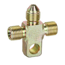 Special cross hydraulic fittings