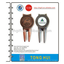 Logo de qualité logo golf divot repair tool