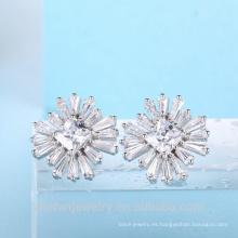 Pendientes cuadrados Stone Zircon Stone Earrings de China Supplier