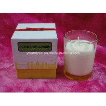 Aromas de Londres Luxury Glass Jar Candle