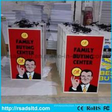 Sucking Plastic Advertising Lighting Box