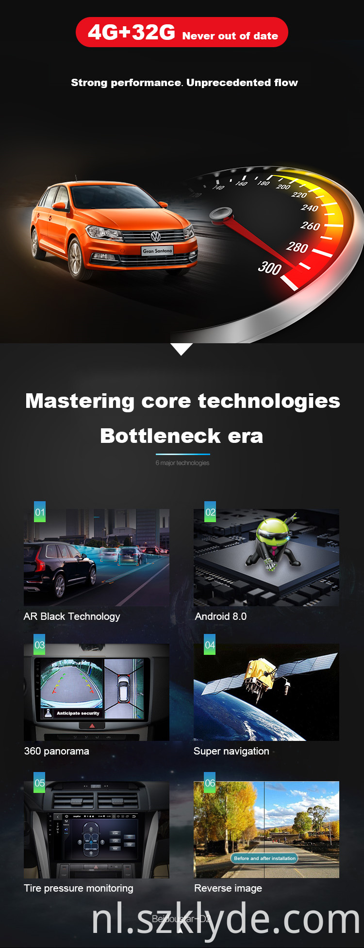 Popular android 9.0 car audio Astra K