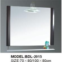 Miroir de salle de bains en verre argenté d'épaisseur de 5mm (BDL-2015)