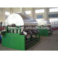 Drum drier/dryer for yerba mate powder