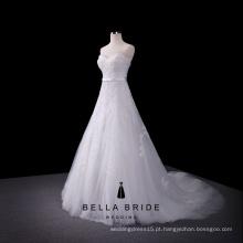 Simples A linha de vestido de noiva boho noiva vestidos de vestidos de noiva sexy vestidos de noiva