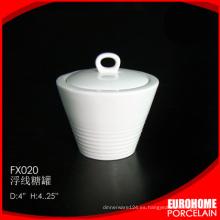 Azucarero cerámica de restaurante para la venta por mayor importador