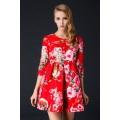 Retro Style Rockabilly Short Dress