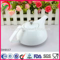 Customize logo ceramic tea pot , porcelain teapot , ceramic teapot