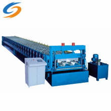 Bodendeck-Farbstahl-Dachziegel-Formmaschine