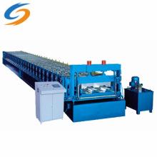 Machine de formage de tuiles de toit en acier de couleur de plate-forme de plancher