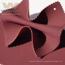 Leather Suede Material  Outdoor Anti Wearable Pu Microfiber Cow Suede Leather