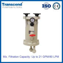 Carcaça de filtro químico galvanizado de precisão HL 101-204