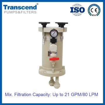 Boîtier de filtre chimique électrolytique de précision HL 101-204