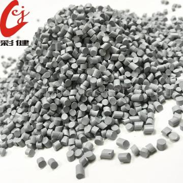 Grey Elastic Body Masterbatch Granules