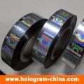 Buntes Laser-Hologramm-Heißfolienprägen der Sicherheits-3D