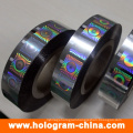 High Quality Security Hologram Hot Foil Stamping