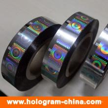 Carimbo de folha quente de holograma anti-falsificação