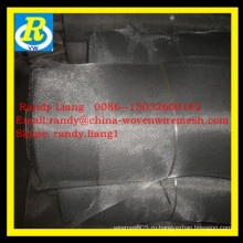Черная ткань с гальванизированным покрытием