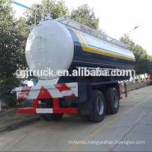 Ethylene truck trailer /double axles truck trailer /25CBM truck trailer / stainless chemical tank trailer