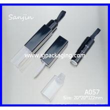 Fita labial tubo tubos tubo de brilho labial embalagem Cosméticos Embalagem recipientes de lábio duplo brilho