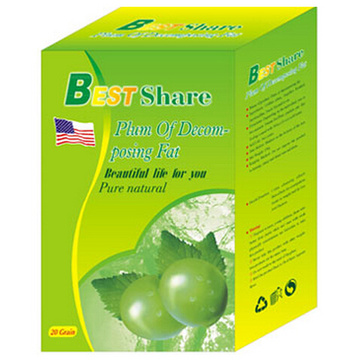 Best Share Weight Loss Slimming Plum Health Food (MJ-BS20 sachets)