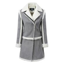 Venda por atacado de vestuário Venda quente mulheres casaco de inverno