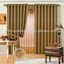 Fast delivery hotel fireproof fabric curtain readymade
