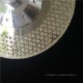 производитель цена гальванизировать лезвие алмазной пилы резки мрамора