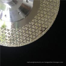 precio del fabricante electrochapado hoja de sierra de diamante corte de mármol