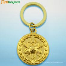 Metall Schlüsselanhänger mit vergoldet