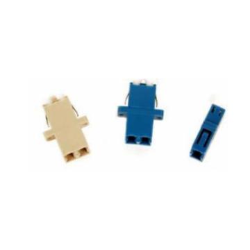 Adaptador de fibra óptica Simplex / Duplex / Quad LC